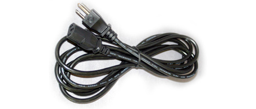 Power Cable 10Pack for PC, Monitor, Printer 110-125V