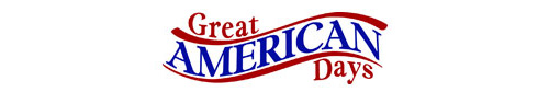 Great American Days $80 Gift Certificate for $72 - Save 10%