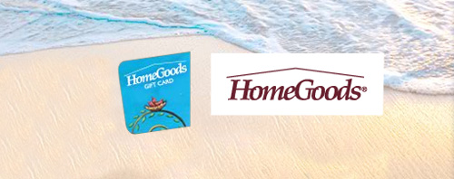 HomeGoods $225 Gift Card for $209.50 Save 7%