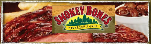 Smokey Bones Gift Card - $100 Value for $90 - Save 10%
