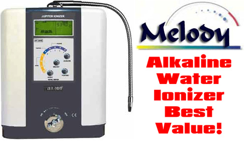 Jupiter Science Melody Alkaline Water Ionizer Filter - For the Purest and Healthiest Water