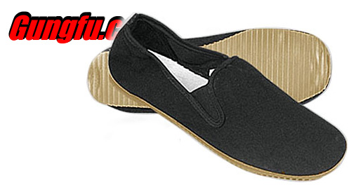 Chinese Kung Fu Shoes w/ Rubber Bottom | Aiyamicro