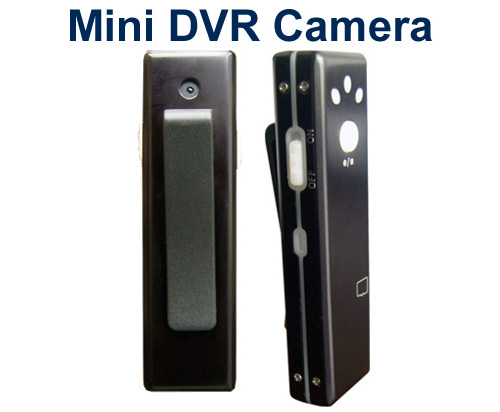 Miniature Color Camera with Audio & DVR All-in-One